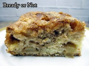 Bready or Not Original: Easy Apple Cinnamon Cake