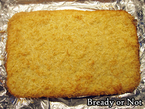 Bready or Not: Coconut Bars