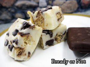 Bready or Not Original: Cookies and Milk Quick Fudge