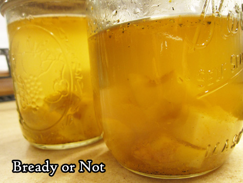 Bready or Not: Homemade Ginger Liqueur