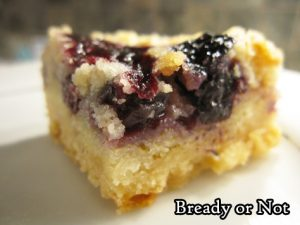 Bready or Not Original: Easy Blueberry Pie Bars