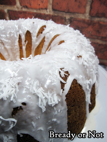 Bready or Not: Coconut Cream Cheese Pound Cake