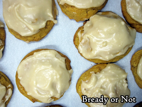 Bready or Not: Buttery Pumpkin Cookies