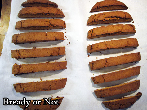 Bready or Not Original: Gingerbread Biscotti