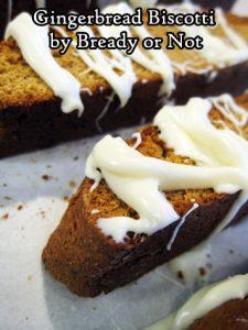 Bready or Not Original: Gingerbread Biscotti