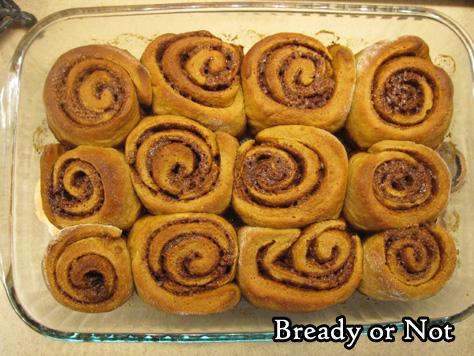 Bready or Not Original: Glazed Gingerbread Rolls