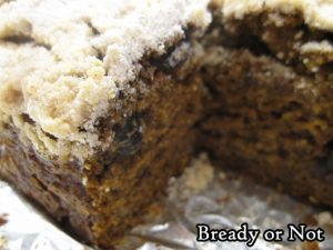 Bready or Not Original: Pumpkin-Gingerbread Coffee Cake