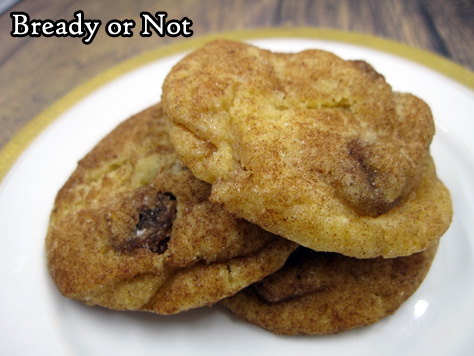Bready or Not Original: Pumpkin Raisin Cookies