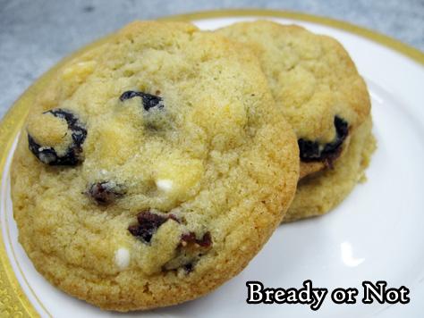 Bready or Not Original: Cranberry-Orange Cookies