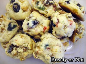Bready or Not Original: Fruitcake Cookies