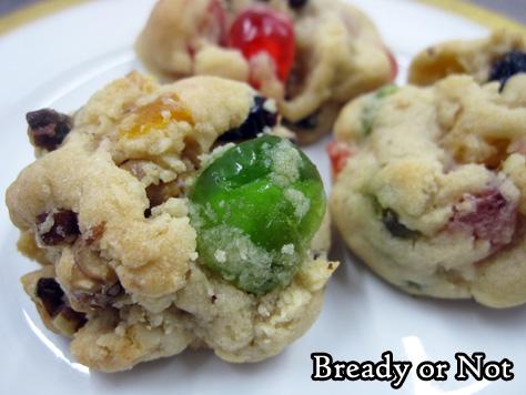 Bready or Not Original: Fruitcake Cookies