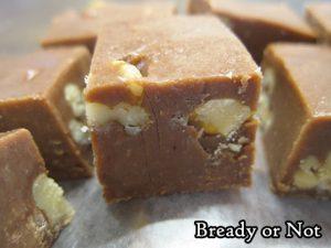Bready or Not Original: Quick Peanut Butter Chocolate Fudge