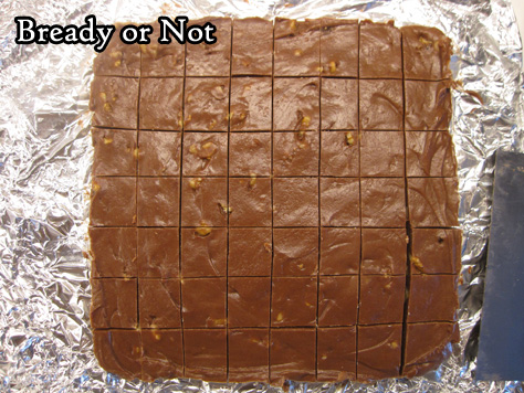 Bready or Not Original: Quick Peanut Butter Chocolate Fudge