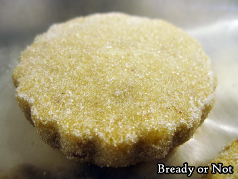 Bready or Not: Almond Sable Cookies