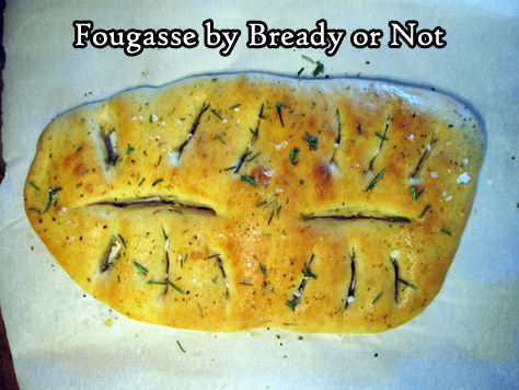 Bready or Not: Fougasse