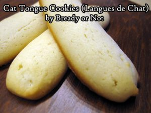 Bready or Not: Cat Tongue Cookies (Langues de Chat)