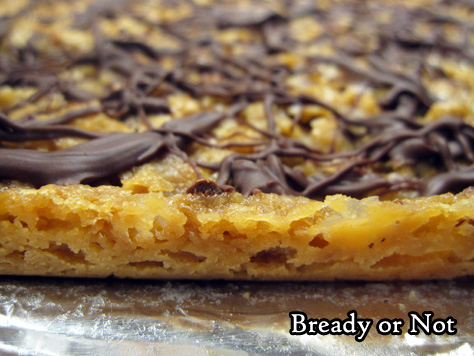 Bready or Not Original: Hazelnut Praline Bars