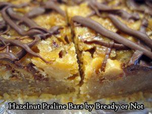 Bready or Not Original: Hazelnut Praline Bars