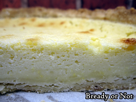 Bready or Not: Irish Lemon Pudding Tart