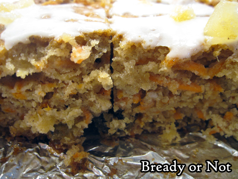 Bready or Not: Ginger Chai Carrot Cake
