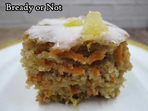 Bready or Not: Ginger Chai Carrot Cake