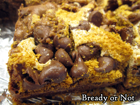 Bready or Not Original: S'Mores Brownies