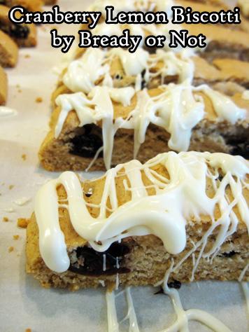 Bready or Not Original: Cranberry Lemon Biscotti