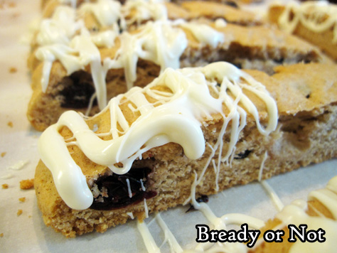 Bready or Not Original: Cranberry Lemon Biscotti