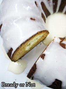 Bready or Not Original: Cream Cheese-Stuffed Lemon Bundt Cake [cake mix]