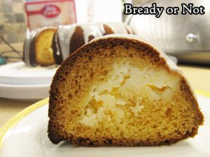Bready or Not Original: Cream Cheese-Stuffed Lemon Bundt Cake [cake mix]