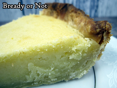Bready or Not Original: Lemon Frangipane with Shortcrust Pastry