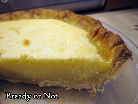 Bready or Not Original: Lemon Frangipane with Shortcrust Pastry