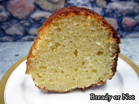 Bready or Not Original: Lemon Sour Cream Bundt Cake