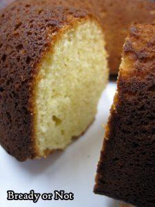Bready or Not Original: Lemon Sour Cream Bundt Cake