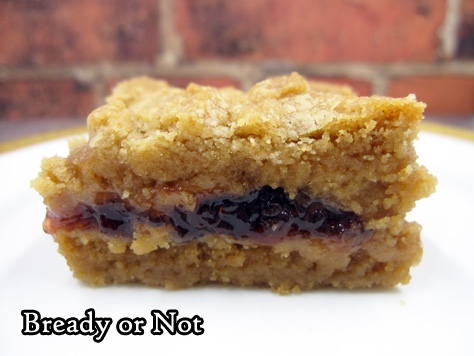 Bready or Not Original: Cookie Butter and Jelly Bars