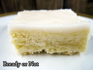 Bready or Not: Lemony Glazed Shortbread Bars