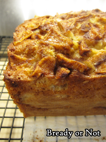 Bready or Not Original: Apple Cinnamon Loaf Cake