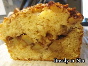 Bready or Not Original: Apple Cinnamon Loaf Cake