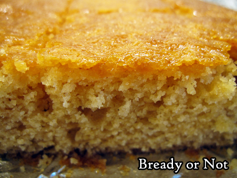 Bready or Not Original: Golden Syrup Snack Cake