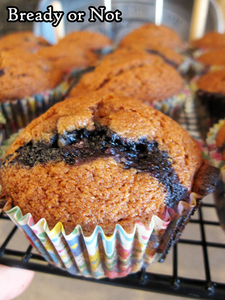 Bready or Not Original: Apple Butter Blueberry Muffins