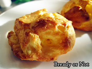 Bready or Not: Gougeres (French Cheese Puffs)