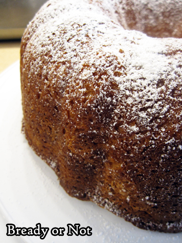 Bready or Not Original: Greek Yogurt Lemon Bundt Cake