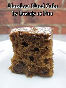 Bready or Not Original: Hazelnut Hand Cake [cake mix]