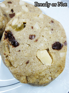 Bready or Not Original: Spiced Maple Macadamia Nut Cookies