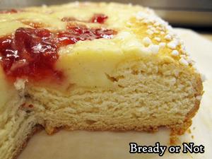 Bready or Not: Jam and Cream Brioche Tart