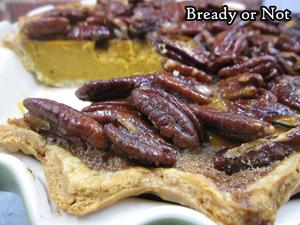 Bready or Not: Pecan-Whiskey Pumpkin Pie