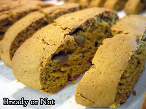 Bready or Not Original: Pumpkin Pie Biscotti