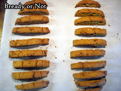 Bready or Not Original: Pumpkin Pie Biscotti