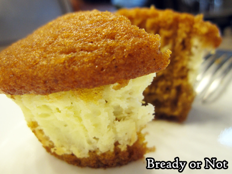 Bready or Not Original: Pumpkin Cream Cheese Cupcakes