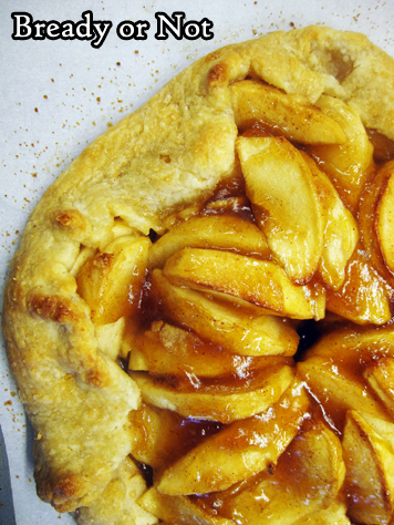 or Not Original: Apple Calvados Galette